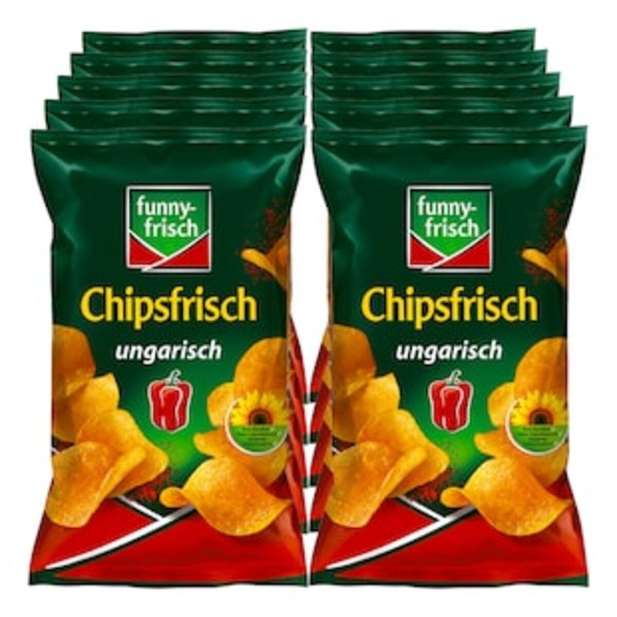 Bild 2 von Funny Frisch Chipsfrisch ungarisch 175 g, 10er Pack