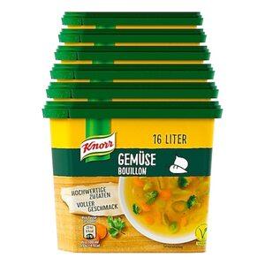 Knorr Gemüse Bouillon ergibt 16 Liter, 6er Pack