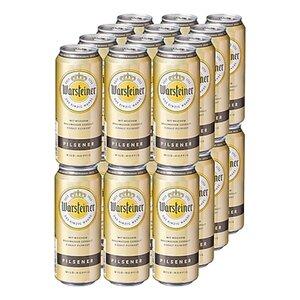 Warsteiner Premium Pilsener 4,8 % vol 0,5 Liter Dose, 24er Pack