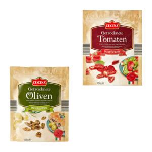 CUCINA     Getrocknete Tomaten / Oliven