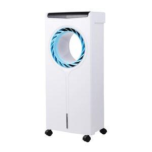 Echos Aircooler 4 L Wassertank 3 Modi mit Fernbedienung 80 Watt, Weiß