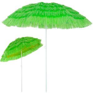 Deuba Sonnenschirm Ø 160 cm Hawaii neigbar Grün