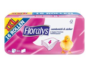 Floralys Toilettenpapier XXL