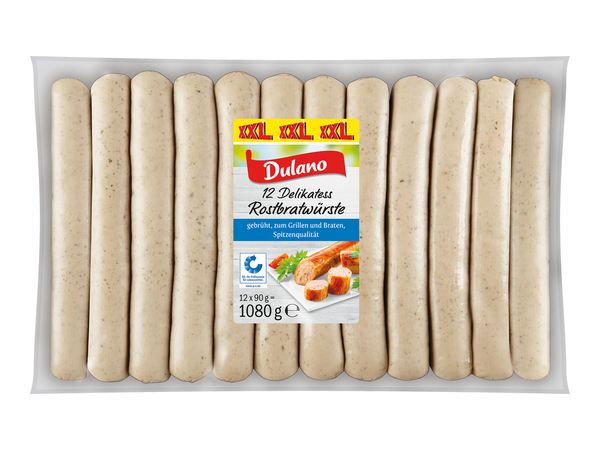 Dulano Delikatess Rostbratwürste XXL