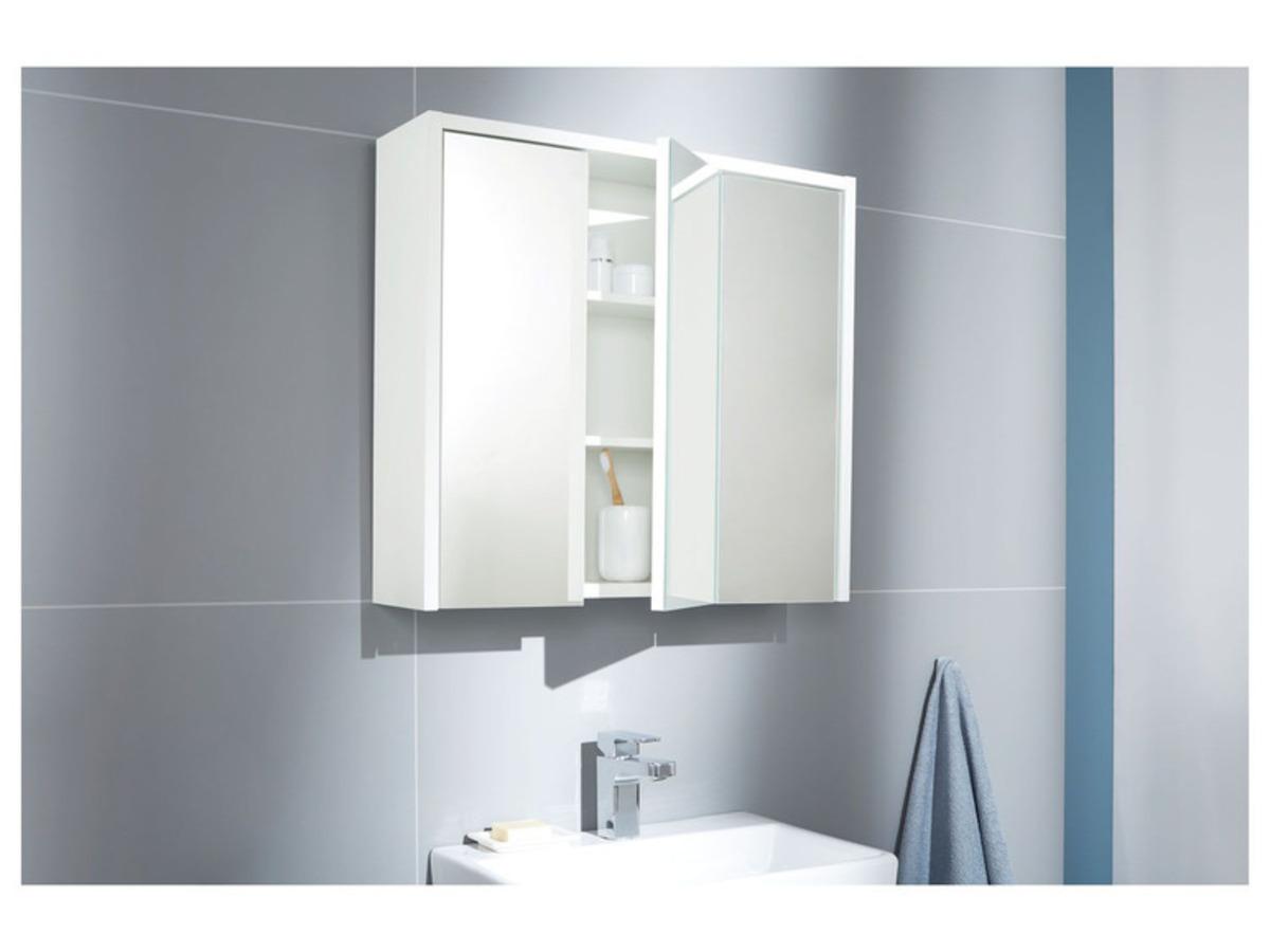 Bild 2 von LIVARNO LIVING® Spiegelschrank weiß