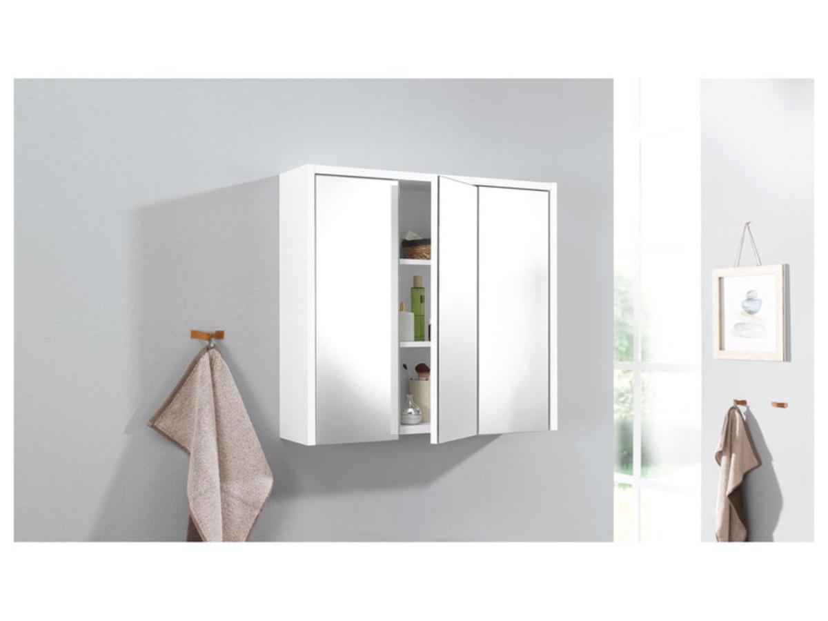 Bild 4 von LIVARNO LIVING® Spiegelschrank weiß
