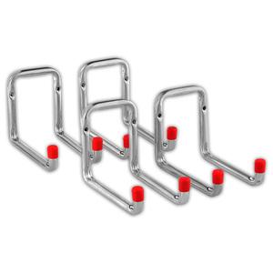 Kraft Werkzeuge Große Wandhaken 4er-Set