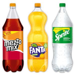 Fanta/ Sprite/ MezzoMix Erfrischungsgetränk