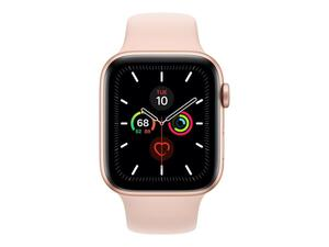 Apple Watch Series 5 Aluminiumgehäuse 44 mm Gold, Farbe: Pink