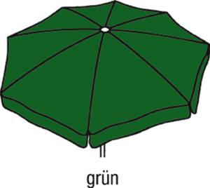 Best Großschirm Mallorca 300x300cm/8-tlg. grün