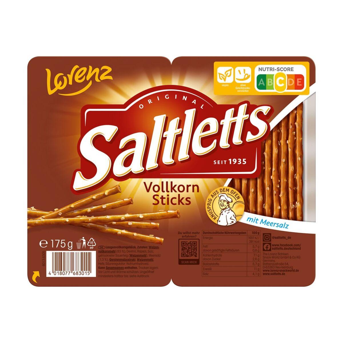 Bild 2 von Lorenz®  Saltletts Sticks 175 g