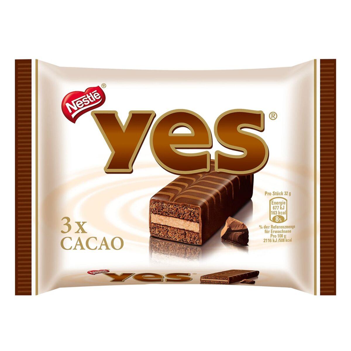 Bild 1 von yes®  Kuchenriegel 96 g