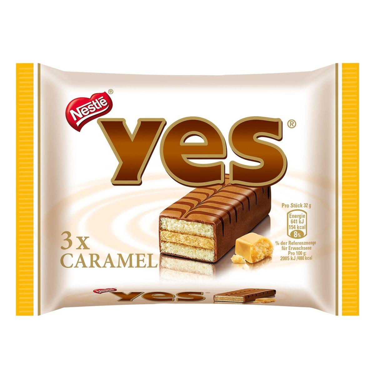 Bild 2 von yes®  Kuchenriegel 96 g