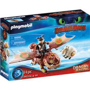 PLAYMOBIL® Dragons 70729 Dragon Racing: Fischbein und Fleisc