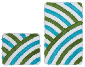 Obsession Badteppich In Style 950 Aqua WC Set 55x90/55x45 cm