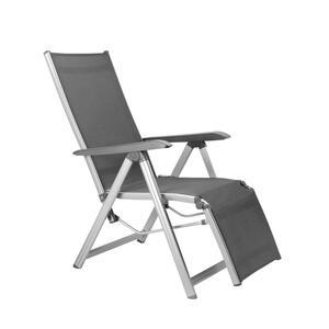 Kettler 0301216-0000 Relaxsessel ; Farbe: Silber / Grau