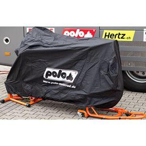 POLO Outdoor Motorrad Abdeckplane Schwarz Größe M = 225/150/96cm