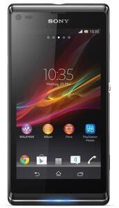 Sony Xperia L starry black Handy (OVP beschädigt)