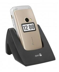 "Doro Primo 413 2.4"" 115g Gold - Mobiltelefon - Klappbar - 2 MP"