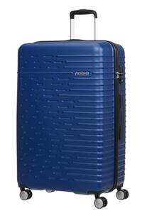 American Tourister Hyperdash Hartschalenkoffer Größe L, Trolley H 78 x B 50 x  T 30 cm, 96 Liter, 4,23 kg, Farbe: Dark Navy