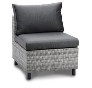 Best Gartenmöbelgarnitur Tisch/Fußteil Bonaire warm-grey; 48925303