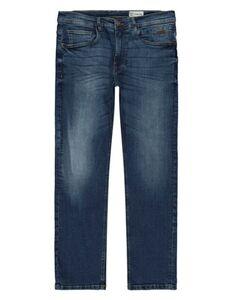 Herren Straight Fit Jeans im Used-Look