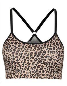 Damen Bustier - Leopardenmuster