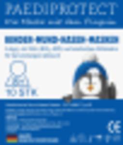 PAEDIPROTECT Medizinische Mundschutzmaske für Kinder