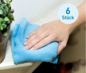 Das Blaue Wunder®- Soft Tuch, 6er-Set