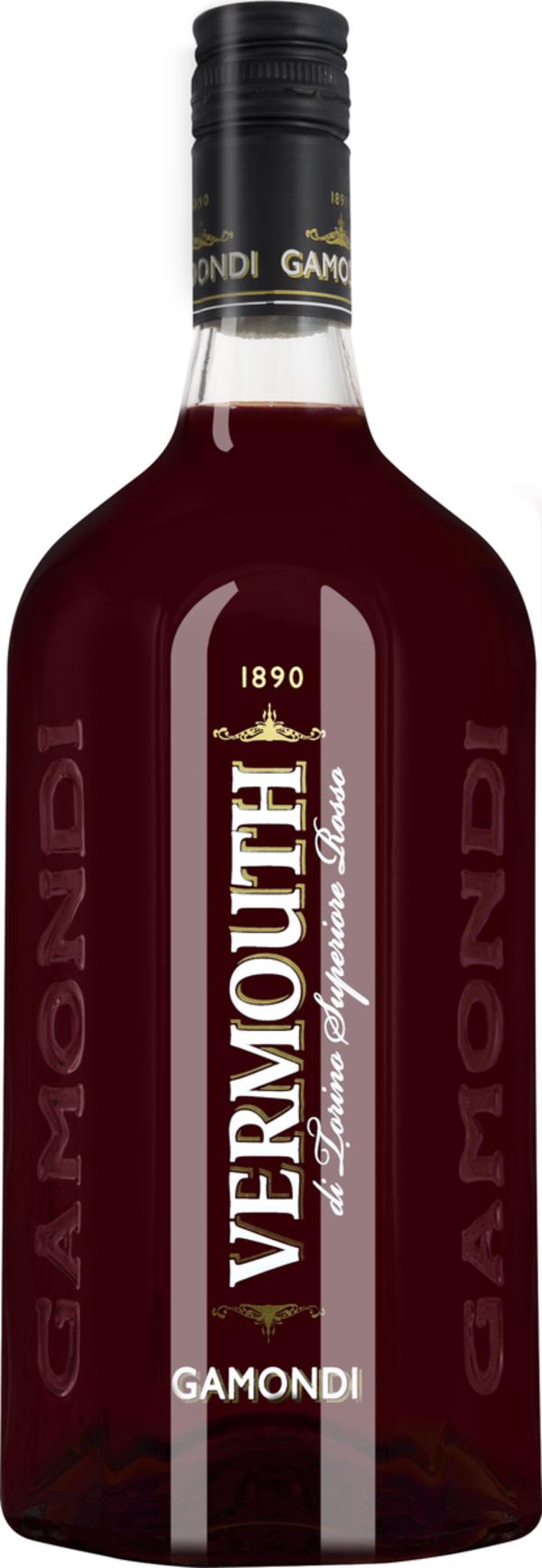Gamondi Vermouth di Torino Superiore Rosso 1L   - Wermut - Toso, Italien, trocken, 1l