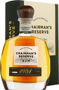 St. Lucia Distillers Chairman's Reserve Rum  0,7 Liter in Gp   - Rum, St. Lucia, trocken, 0,7l