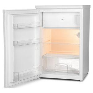 MEDION Kühlschrank mit Gefrierfach MD 37194, 109 L Nutzinhalt, 95 l Kühlteil & 14 L Gefrierteil, wechselbarer Türanschlag