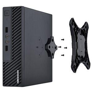 MEDION AKOYA® S23002, Intel® Celeron® J4105, Windows10Home, 128 GB SSD, 4 GB RAM, Slim Multimedia PC