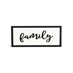 Schriftzug Family