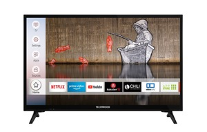 "Techwood LED-Fernseher »H24T52E«, 60 cm/24 "", HD-ready, Smart-TV"
