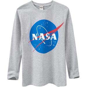 NASA Langarmshirt mit großem Print