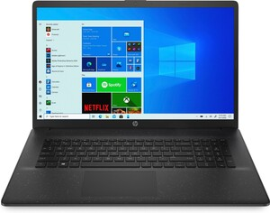 HP 17-cp0617ng schwarz Notebook (17,3 Zoll HD+ (matt), Athlon 3150U, 8 GB RAM, 1 TB HDD, AMD Radeon, Windows 10 Home)