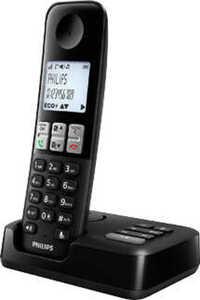 PHILIPS Schnurlostelefon mit Anrufbeantworter »D2551B«
