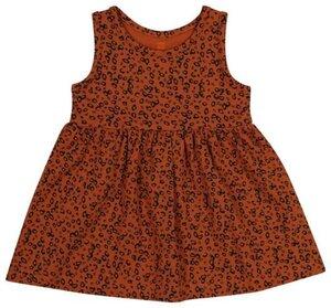 HEMA Baby-Kleid, Ärmellos, Biobaumwolle Braun