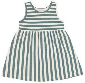 HEMA Baby-Kleid, Biobaumwolle Eierschalenfarben