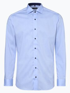 Eterna Slim Fit Herren Hemd Bügelfrei blau Gr. 39
