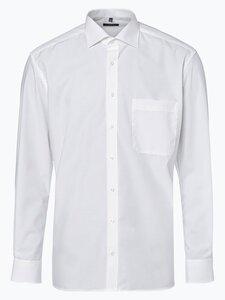 Eterna Comfort Fit Herren Hemd Bügelfrei beige Gr. 40