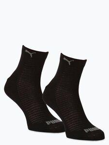 Puma Damen Sneakersocken im 2er-Pack schwarz Gr. 35-38