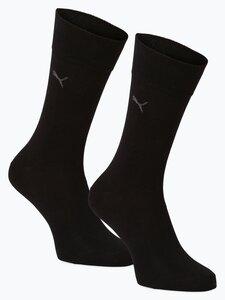 Puma Herren Socken im 2er-Pack schwarz Gr. 39-42
