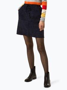 Marie Lund Damen Rock blau Gr. 40