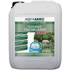 Aquasan Aquaristik&gartenteich - AQUASAN Gartenteich Flüssiger TeichKlärer PLUS (GRATIS Lieferung in DE - Sorgt schnell für kristallklares Wasser im