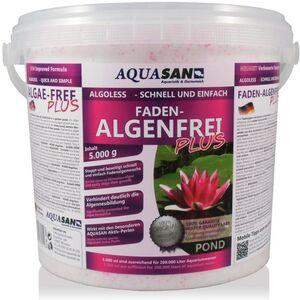 Aquasan Aquaristik&gartenteich - AQUASAN Gartenteich ALGOLESS Faden-Algenfrei PLUS (Beseitigt schnell und stoppt Fadenalgen im Teich. Der