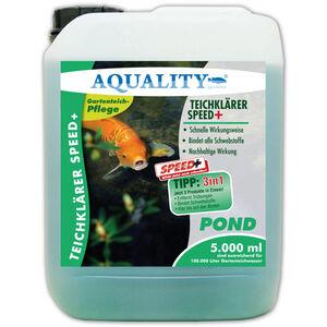 TeichKlärer SPEED+ 3in1 (Wirkt schnell und sicher - Entfernt Trübungen, bindet Schwebstoffe im Gartenteich - Nachhaltige Wirkung, kristallklares