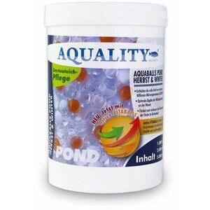 Gartenteich AQUABALLS Herbst & Winter (Lebensnotwendigen Mikroorganismen - Optimale Abgabe bis zu 4 Wochen - Perfekt überwintern) 1 Liter - Aquality
