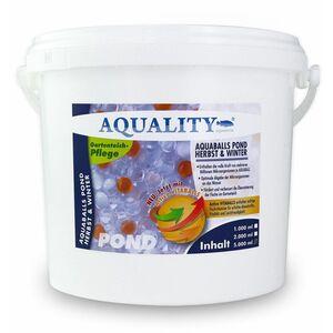 Gartenteich AQUABALLS Herbst & Winter (Lebensnotwendigen Mikroorganismen - Optimale Abgabe bis zu 4 Wochen - Perfekt überwintern) 5 Liter - Aquality